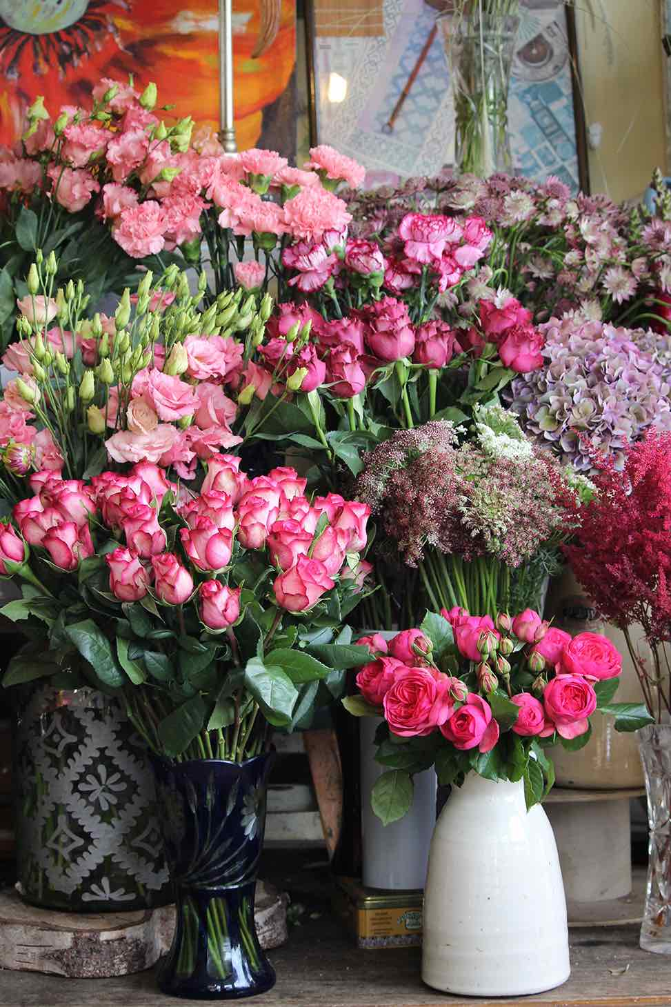 Achillea flower shop, wild flowers, natural flowers, flowers Northern London