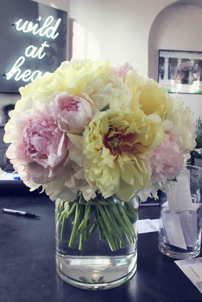 Nikki Tibbles, Wild at heart, Pimlico, flowers, peony, rose,  love in the mist