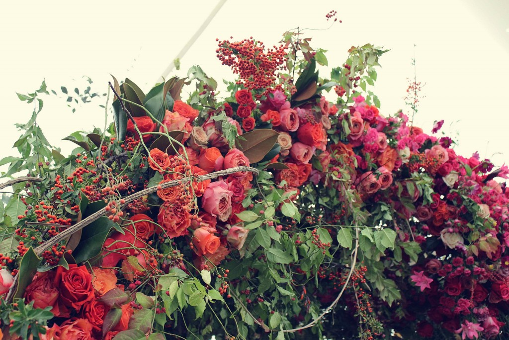 London design festival, LDF15, Decorex, that flower shop, flower arch, rose,  London design week