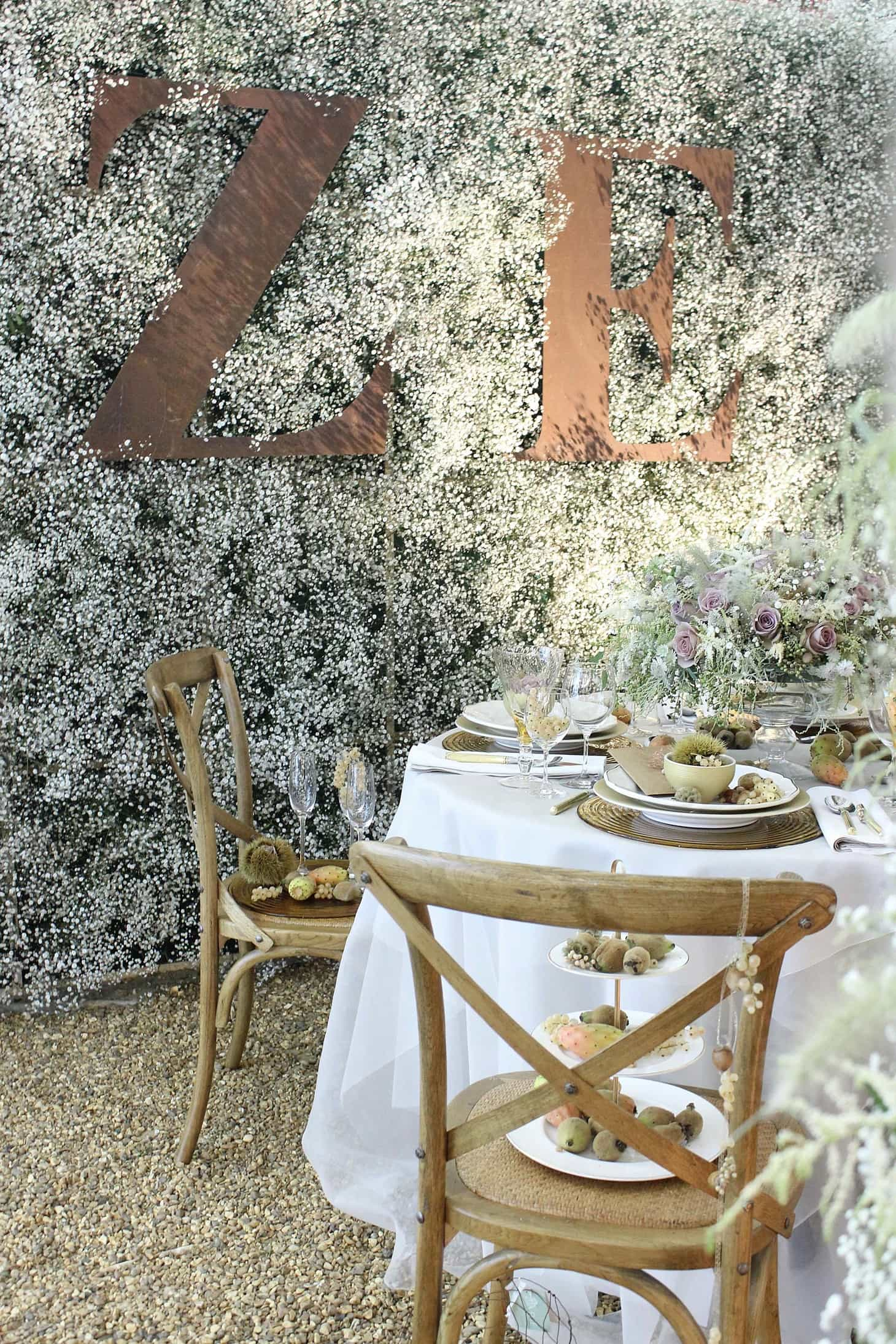 wedding inspiration, Zita Elze at brides the show 2015, Silver Lace roses