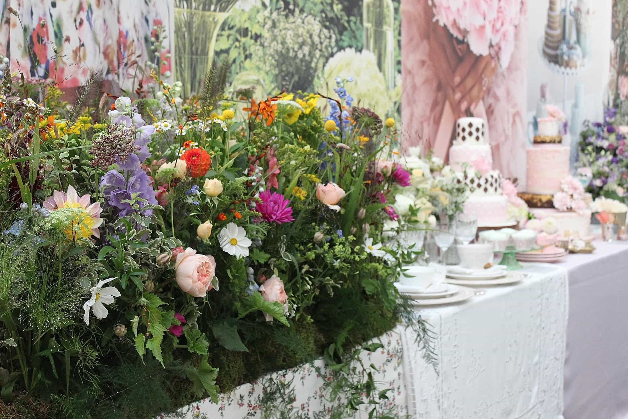 Brides the show a true floral heaven, briides the show 2015,  flowers, roses