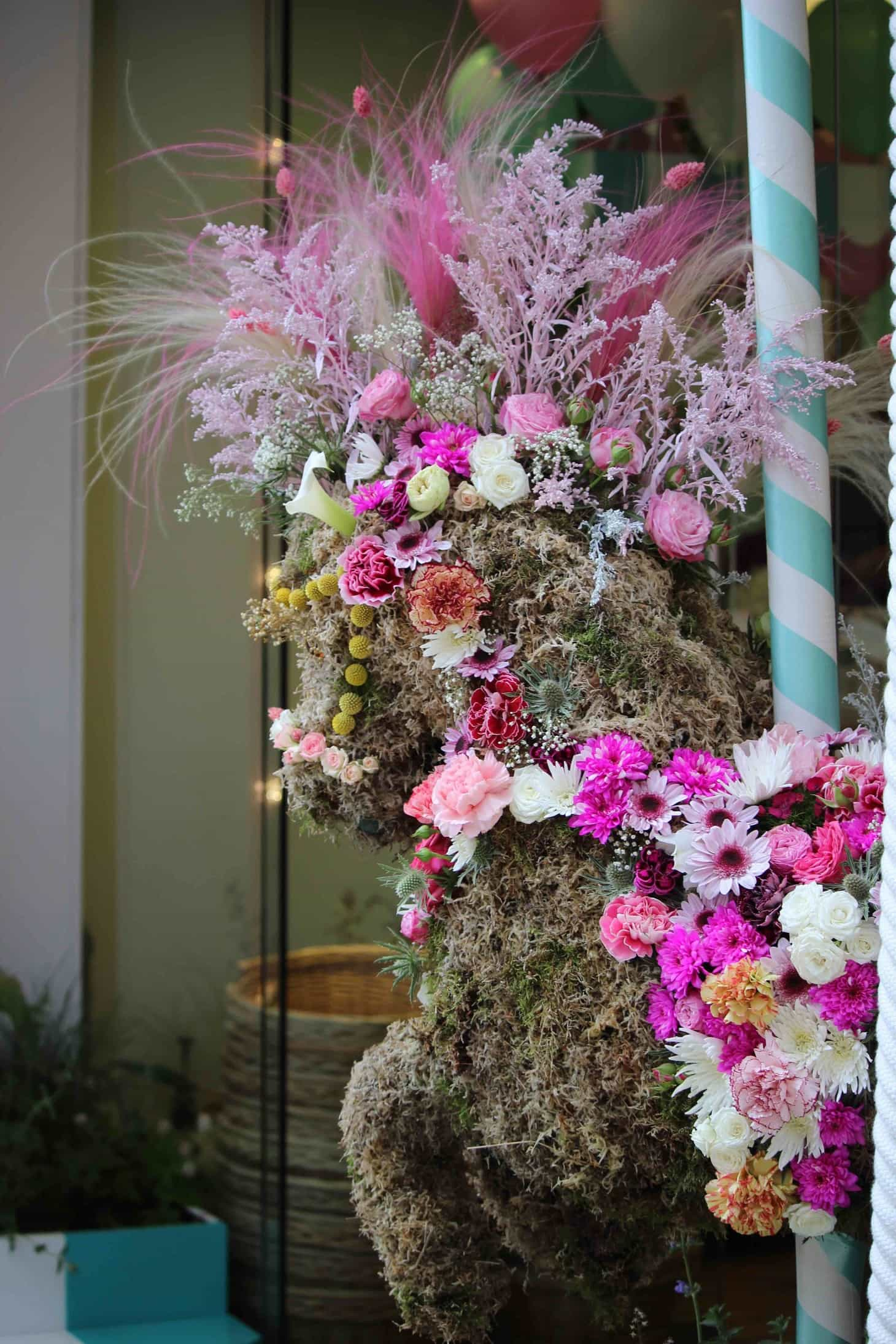 Willow Crossley, Flower Carnaval takes over London,  Chelsea in bloom, 2016, RHS chelsea 2016, Carnaval, Rio, London